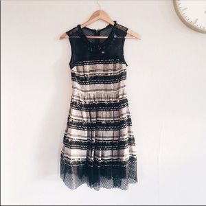 Anthropologie Multi-textured A-Line Tracy Reese